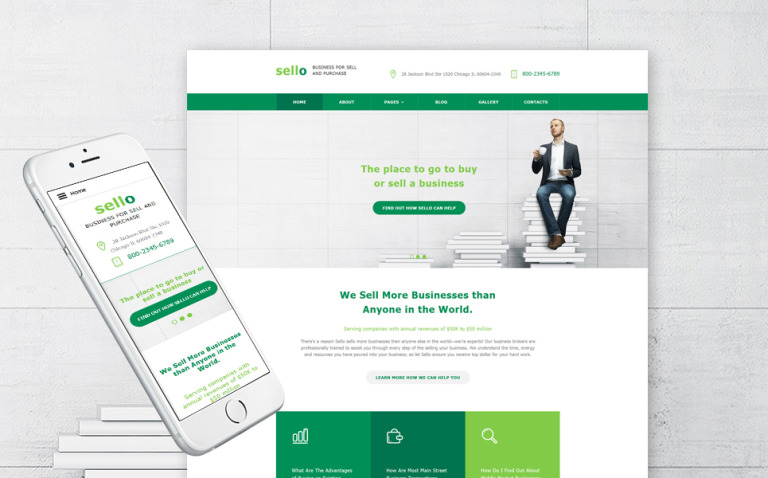 Business Responsive Joomla Template New Screenshots BIG