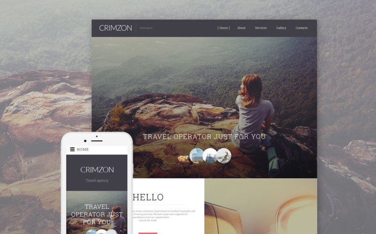 Crimzon Website Template New Screenshots BIG