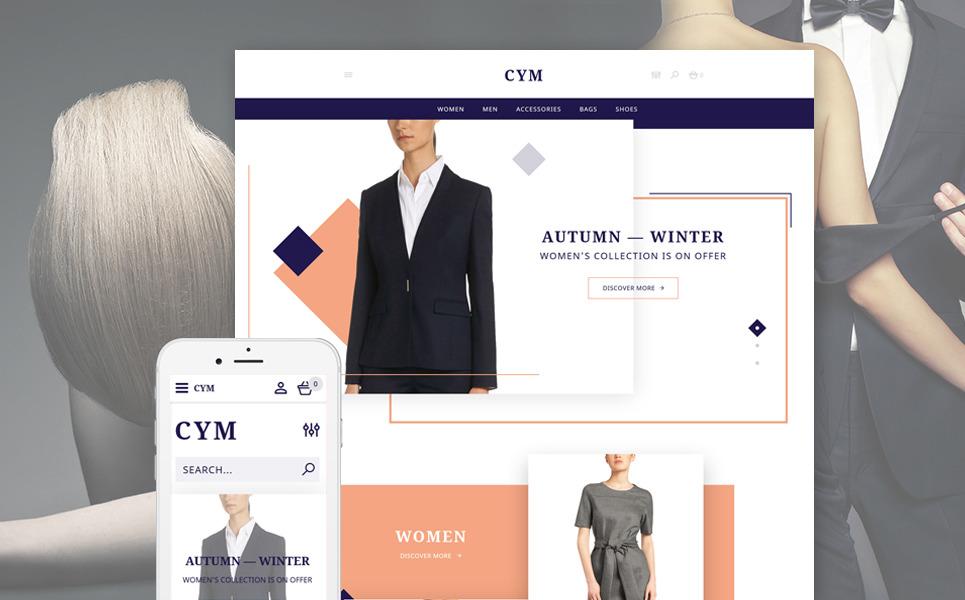 CYM - Urban Clothing OpenCart Template New Screenshots BIG