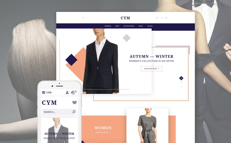CYM - Urban Clothing OpenCart Template New Screenshots BIG