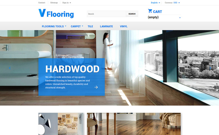 Flooring PrestaShop Theme