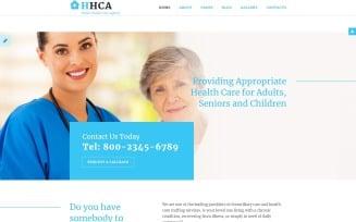 Home Health Care Agency Joomla Template