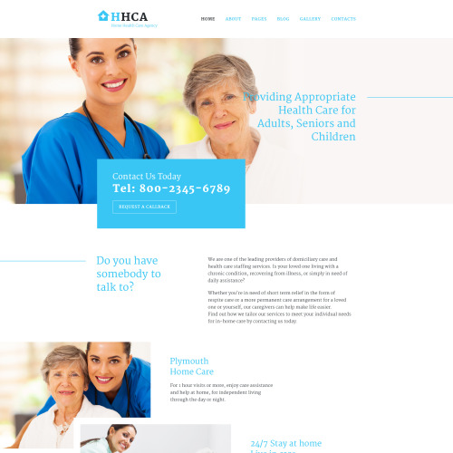 HHCA - Joomla! Template based on Bootstrap