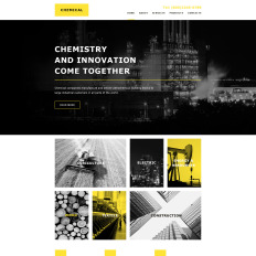 Industrial Muse Templates Templatemonster