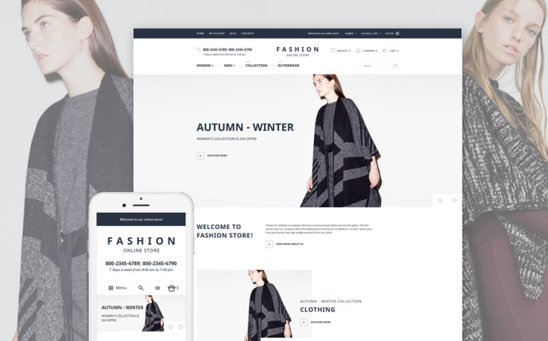 Ladies Clothing Magento Theme New Screenshots BIG