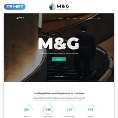 1169 best business website templates mg consulting multipage html5 premium website template cheaphphosting Choice Image