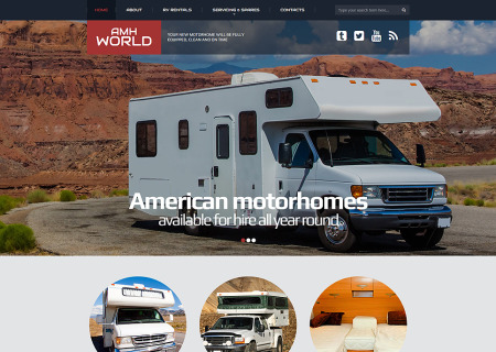 Motor Homes & RVs Responsive
