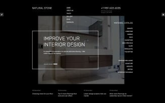 Natural Stone Floor Joomla Template