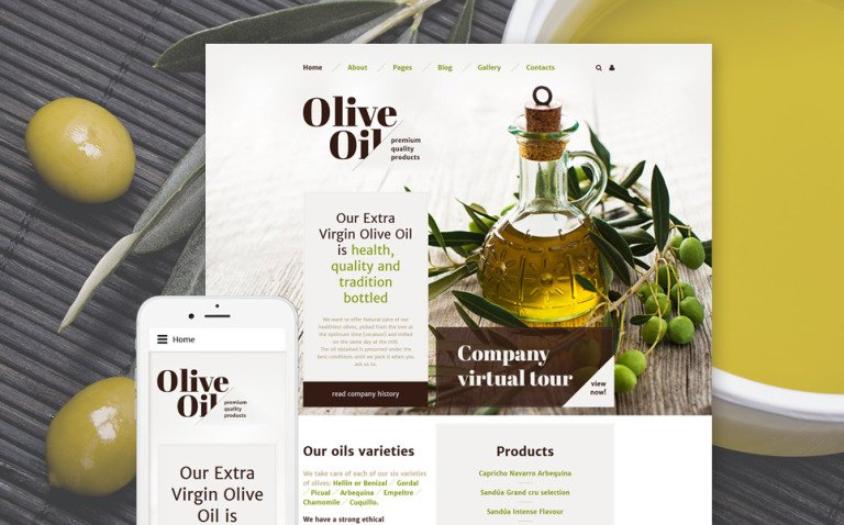 Olive Oil Joomla Template New Screenshots BIG