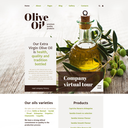 Olive Oil - Joomla! Template based on Bootstrap