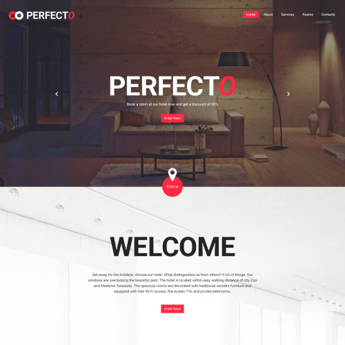Perfecto - Website Template based on Bootstrap