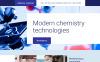 Plantilla para Página de Aterrizaje para Sitio de Laboratorios científicos New Screenshots BIG