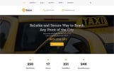 Plantilla Web para Sitio de Taxi