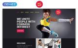Responsywny szablon Landing Page Hip-Hop - Dance Studio Creative HTML #58029