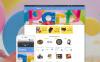 Reszponzív Surprise OpenCart sablon New Screenshots BIG