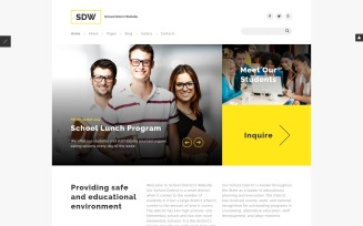 SDW Joomla Template