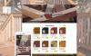 """Shopify шаблон """"Woodwork - изделия из дерева"""" New Screenshots BIG"""