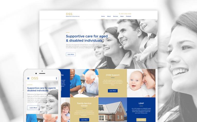Social Foundation Responsive Website Template New Screenshots BIG