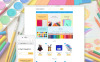 """Stationery"" Responsive OpenCart Template New Screenshots BIG"