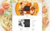 Szablon Muse #58045 na temat: restauracja włoska New Screenshots BIG