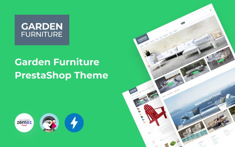"""Tema De PrestaShop """"Tienda de Muebles de Jardín"""" #58023 - captura de pantalla"""