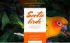 Template di Landing Page Responsive #58015 per Un Sito di Uccelli New Screenshots BIG