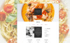 Template Muse para Sites de Restaurante Italiano №58045 New Screenshots BIG