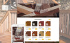 "Template Shopify Responsive #58051 ""Woodwork"" New Screenshots BIG"