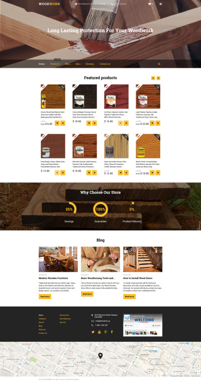 Building Materials Responsive Tema Shopify