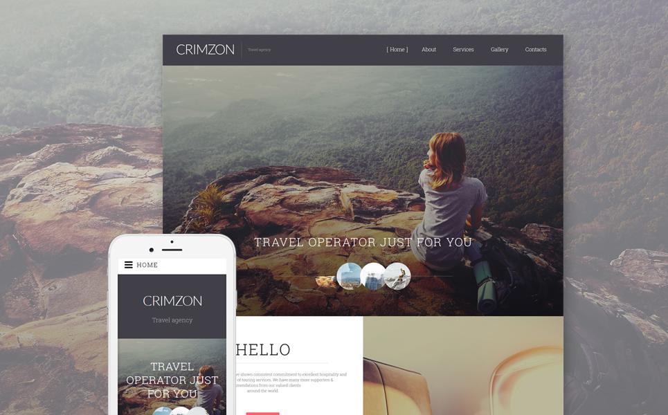 Template siti web per un sito di agenzia di viaggi for Siti web di costruzione domestica