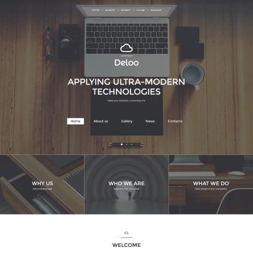 Deloo - Responsive Website Template