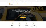 "Website Vorlage namens ""Express - Taxi Services Multipage HTML"""