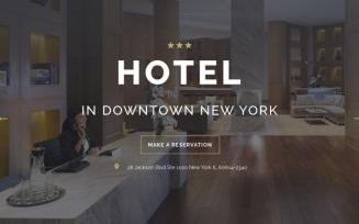 HOTEL - Travel Stylish HTML Landing Page Template
