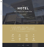 Hotels Landing Page  Template 58112