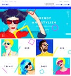 Fashion OpenCart  Template 58113