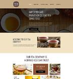 Food & Drink Website  Template 58114