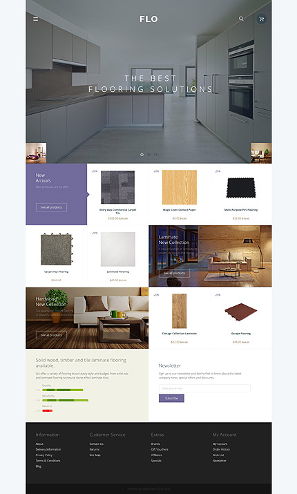 ADOBE Photoshop Template 58116 Home Page Screenshot