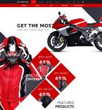 Sport OpenCart  Template 58117