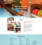Sport Website  Template 58121
