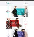 Fashion VirtueMart  Template 58124