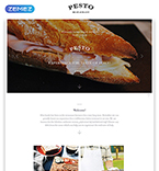 Cafe & Restaurant Landing Page  Template 58125