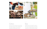 Responsywny szablon Landing Page Pesto - Cafe and Restaurant Clean HTML #58125