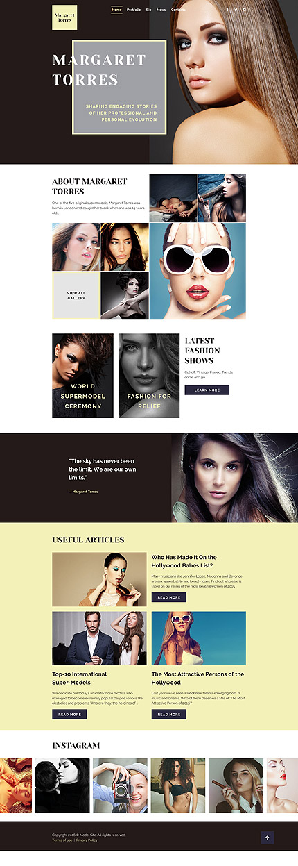 Website Template #58126