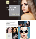 Fashion Website  Template 58126