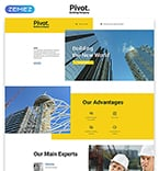Architecture Landing Page  Template 58128