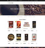 Cafe & Restaurant OpenCart  Template 58134