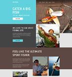 Sport Website  Template 58137