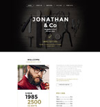 Beauty Website  Template 58144