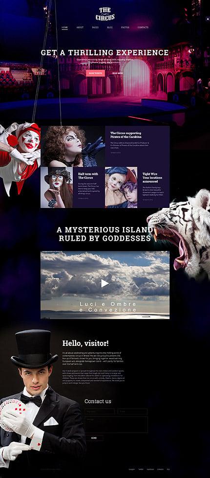Joomla Theme/Template 58147 Main Page Screenshot