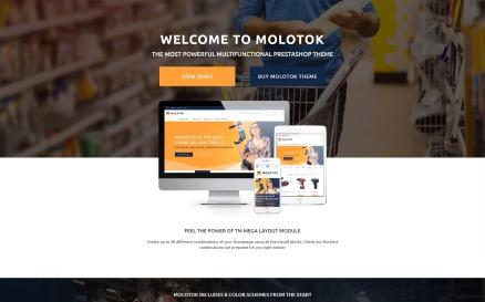 Molotok - Hardware Tools eCommerce Template PrestaShop Theme